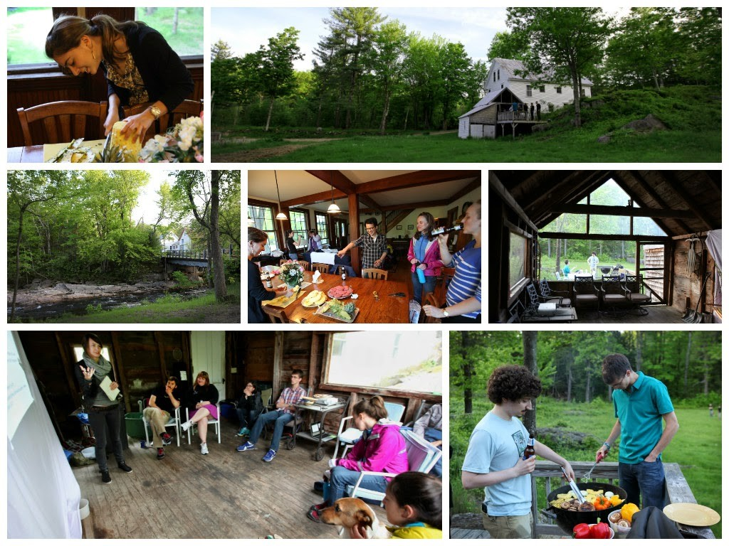 Retreat collage